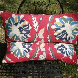 Nina Home By Nina Campbell Margot Stitched Floral